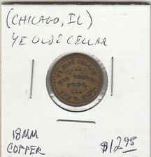 LAM(B) Token - Chicago, IL - Ye Olde Cellar - G/F 5 Cents - 18 MM Copper