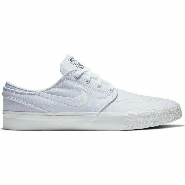 Size 10 - Nike Sb Zoom Stefan Janoski Canvas RM White for sale ...