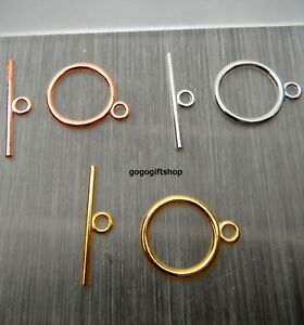 20-sets-x-15mm-Round-Toggle-Clasps-Findings-for-necklcase-bracelets