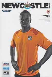 NEWCASTLE-v-CARDIFF-2013-14-MINT-PROGRAMME-2014-CHEICK-TIOTE-COVER