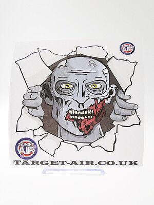 Abile 10 Bersagli In Cartoncino Target Zombie Blu Lato 14 Cm Quadrati Softair Tiro Al Adatto Per Uomini E Donne Di Tutte Le Età In Tutte Le Stagioni
