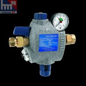 Syr-Fuell-Combi-BA-Typ-6628-DN-20-Manometer-Druckminderer-waagerecht-Fuellcombi