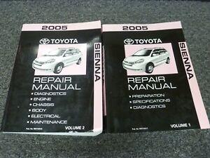 Car Complaints: 2005 toyota sienna repair manual pdf