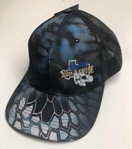 Sombrero-de-Pesca-Kryptek-Neptuno-fundicion-al-aire-libre-para-una-causa-bordado-de-Texas