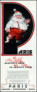 1944-Santa-Claus-Aris-garters-suspenders-Christmas-vintage-art-Print-Ad-adL55