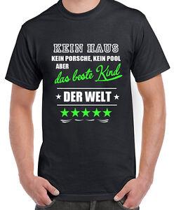Details Zu Fun Shirt Das Beste Kind Der Welt Vater Papa Tochter Sohn Geburt Spruch Geschenk