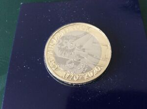 2020 £ 2 due libbre moneta capitano James Cook FIOR DI CONIO bunc.