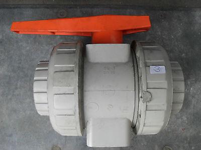 "nuevo! válvula esférica d90 dn80 3/"" FIP pp-2-weg"