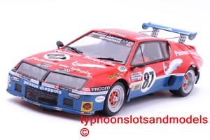 2801 Team Slot Renault Alpine A310 V6 GTP – 24h Le Mans 1977 – New & Boxed