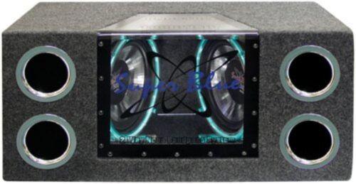 Pyramid BNPS102 10-Inch 1,000-Watt Dual-Bandpass System with Neon Accent Lightin