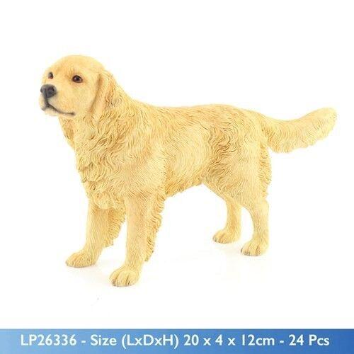 Dog Studies By Leonardo Standing Golden Retriever New Gift LP26336