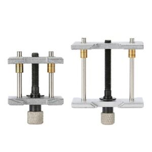 2pcs-2-In-1-Watch-Case-Metal-Movement-Holder-Watchmaker-Clamp-Repair-Tool-US