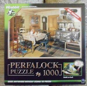 """""""perfalock 'puzzle 1000 Pièces à L'ancienne Cuisine.-afficher Le Titre D'origine Couleurs Harmonieuses"""