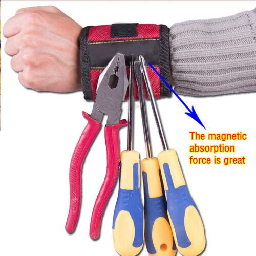 Outil magnétique Bracelet forte Aimant pour tenir vis Nail Drill Bit Excellent