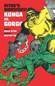 Ditko Monsters 1 Steve Ditko Joe Gill Gorgo Konga Charlton Giant Monsters VF