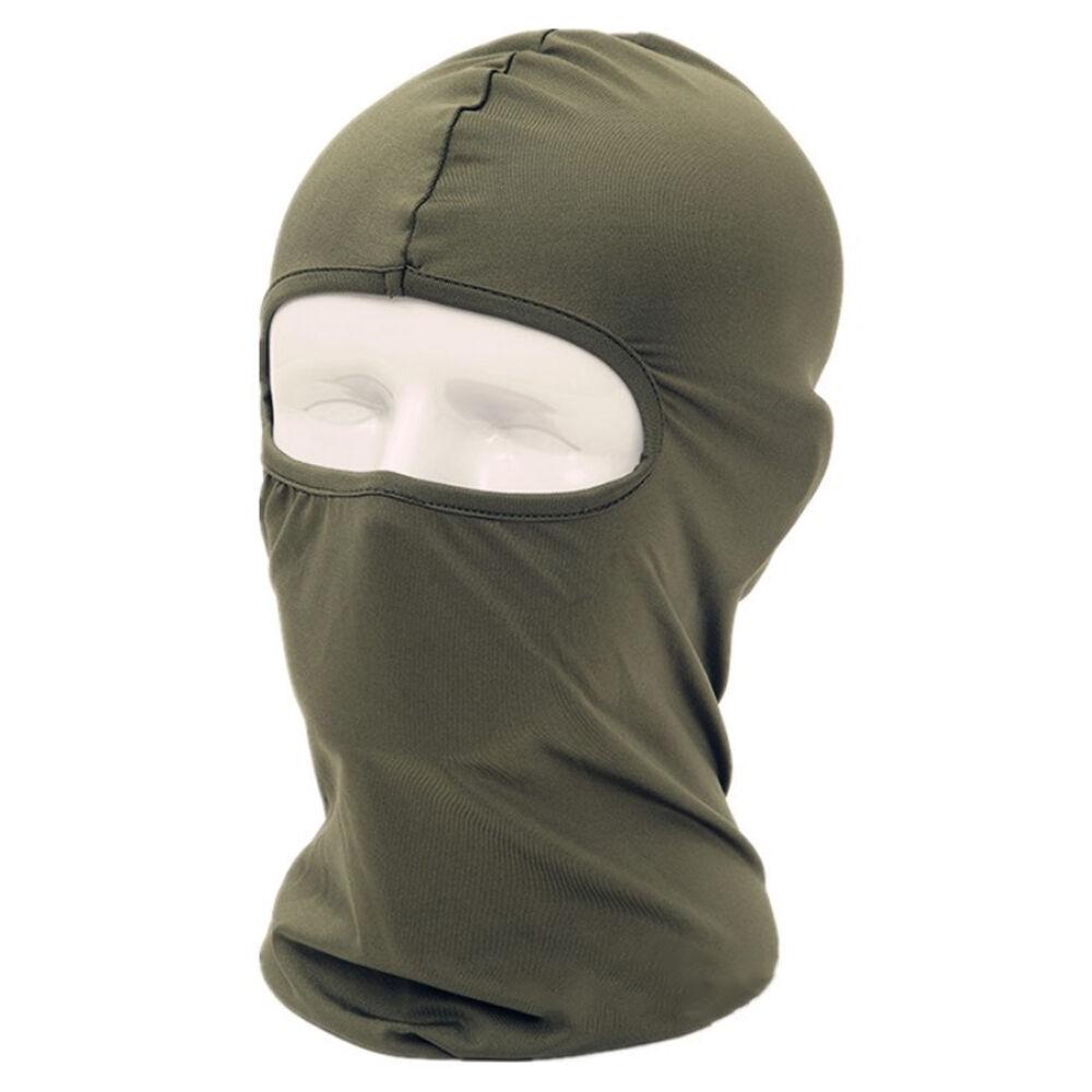 Outdoor Full Face Mask lycra Balaclava Ultra-thin Motorcycle Cycling Ski CS Mask