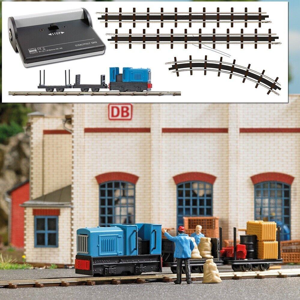 Busch 12013-h0 campo treno start set trasporto - NUOVO