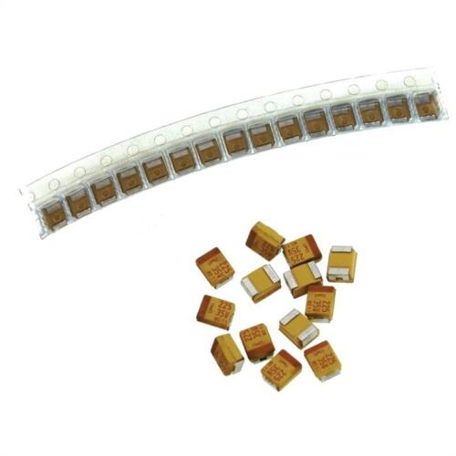 20x tantale condensateur smd 2,2µf 35v 125 ° C; taille B; t491b225k035at; 2,2uf