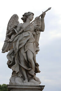 Angel-Statue-Outside-Vatican-City-Rome-Italy-12-034-x-18-034-Matte-Print