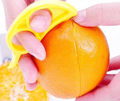 3Pcs New Lemon Orange Opener Peeler Slicer Cutter Plastic Kitchen Home Tools