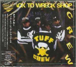 TUFF-CREW-BACK-TO-WRECK-SHOP-3-JAPAN-CD-BONUS-TRACK-Ltd-Ed-C94