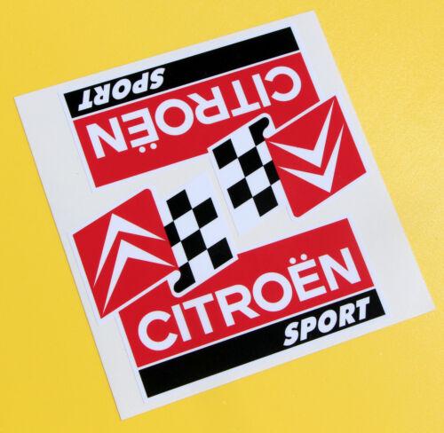 AMI Mehari /'CITROEN SPORT/' RALLY C3  AX BX stickers 2CV SAXO SM Dyane DS