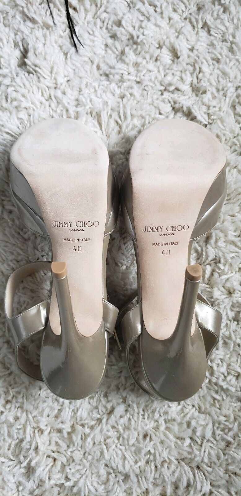 NIB Jimmy Choo Choo Choo Sandals 40 ab89e5