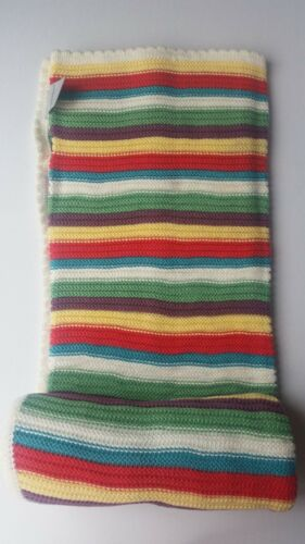 Mamas and /& Papas Blanket Whirligig Knitted 70x90cm 100Cotton Baby Boy Girl Gift