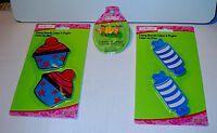 Creatology Emery Boards & Ring By Michaels 3 Pks5 Items Total Cupcakes Candy 31p