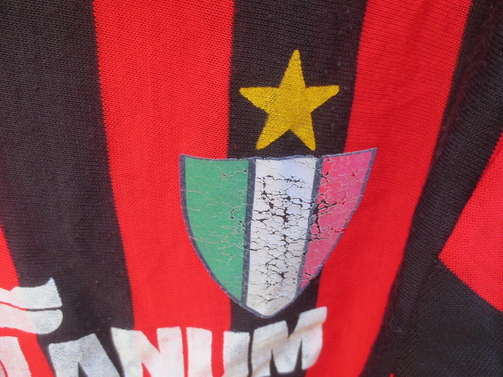 VINTAGE Maillot MILAN AC 1989 MEDIOLANUM maglia calcio football football football ancien shirt M   Di Progettazione Professionale    Shopping Online    Acquisti online  2810da