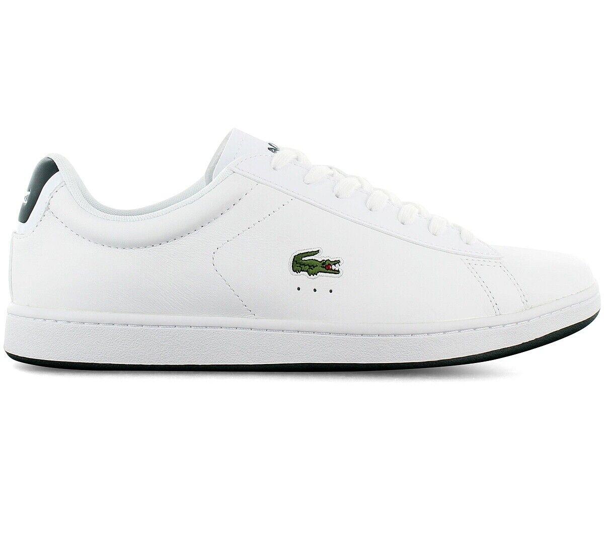 Lacoste carnaby evo 0721 SMA Men's Sneaker White 7-41SMA00031R5 Casual Shoes