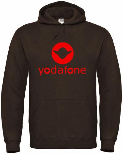 "Hoodie /""yodafone/"" S bis 5XL ; Kult Fun handy smartphone vertrag tarif"