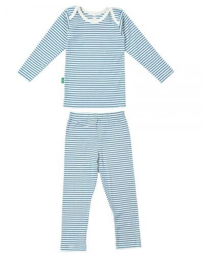 kbA Coton Biologique shirt et pantalon LOTTIES BIO rayures linge-set 2 pièces bleu