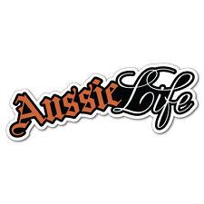 Aussie Life Sticker Aussie Car Flag 4x4 Funny Ute #7436EN