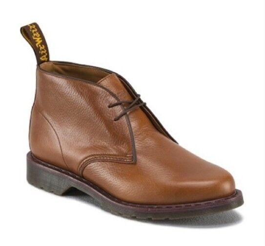 DR MARTEN DOC 'Sawyer' Desert Men's braun Leather Chukka Ankle Stiefel SZ 13