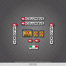 0232 Columbus TANDEM CM Bicycle Frame and Fork Stickers - Decals