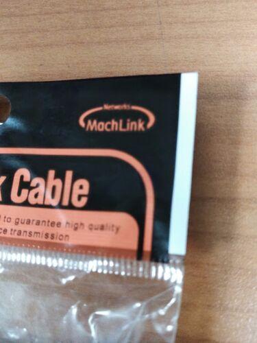 180 degree MachLink SATA3 30cm SATA III 6Gbps Locking White cable 1pcs