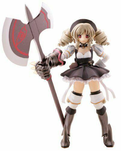 Kaiyodo REVOLTECH Queen/'s Blade QB 012 Ymir 2P black color ver Action Figure
