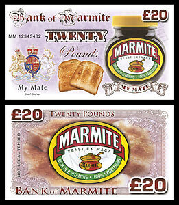 Marmite Novelty Banknotes