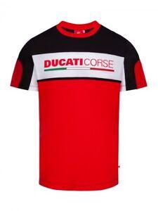 2018 Official Ducati Corse Yoke T/'Shirt 18 36005