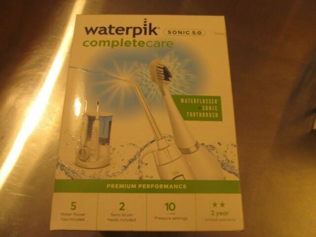 Waterpik Water Flosser plus Sonic Toothbrush Complete Care 5.0 - WP-861W