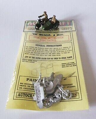 1940s RAC BOX PATROL MAN 00 GAUGE 1//76 4MM METAL CARD MODEL KIT OO 2 x 1920s