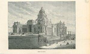 Ancien-palais-de-justice-de-Bruxelles-Brussel-GRAVURE-ANTIQUE-OLD-PRINT-1880