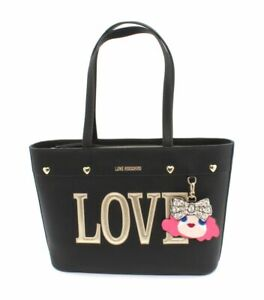 38bfa2206e Love Moschino Borsa a Spalla Pebble Nero P/e 2019 | Acquisti Online ...