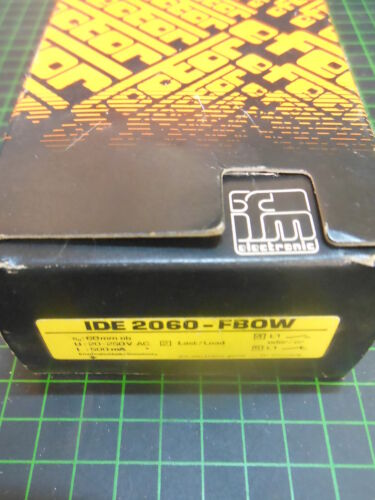 IFM Näherungsschalter IDE 2060 FBOW; NEU /& OVP