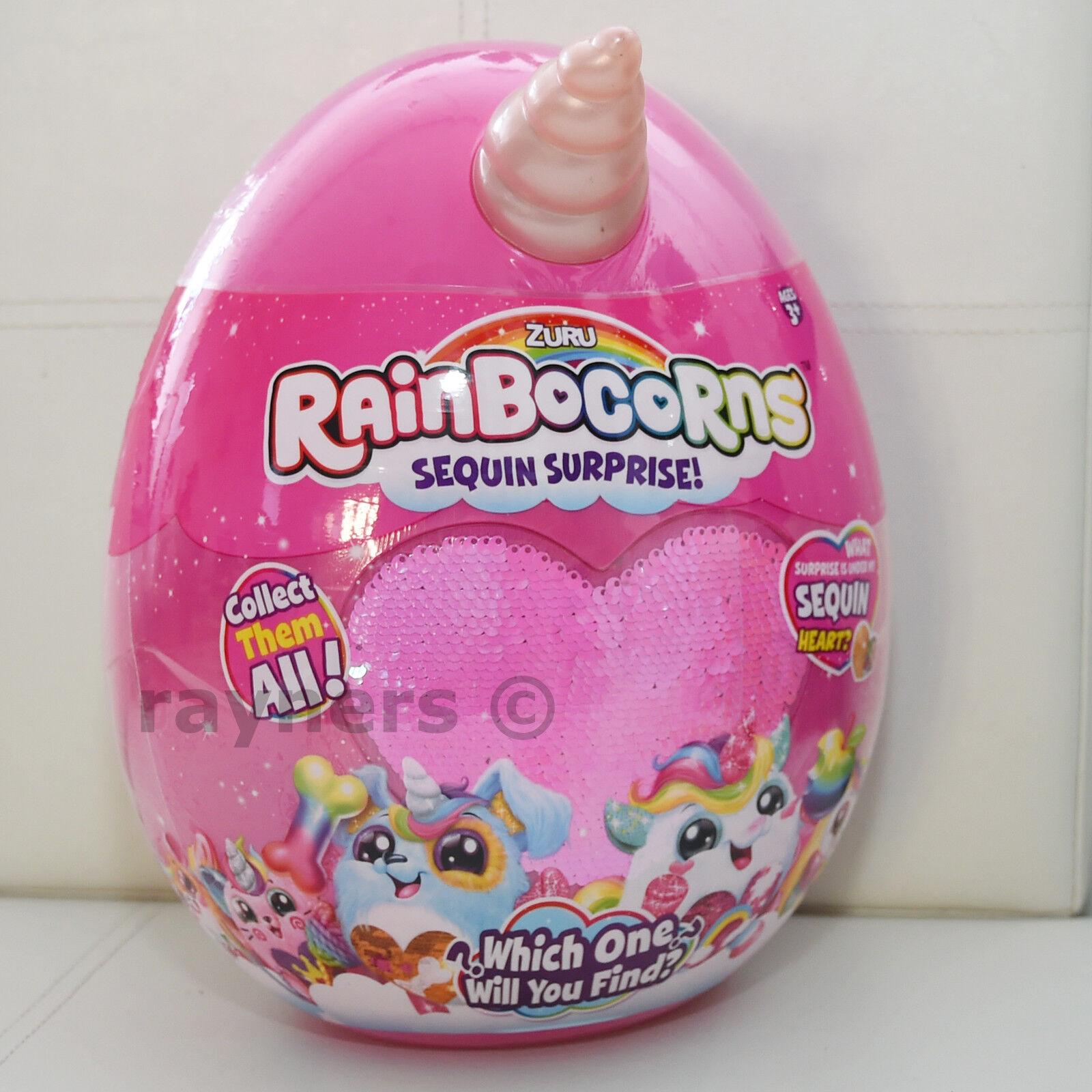 (Choose Colour) New Rainbocorns Rainbocorn Egg Sequin Surprise Genuine by Zuru
