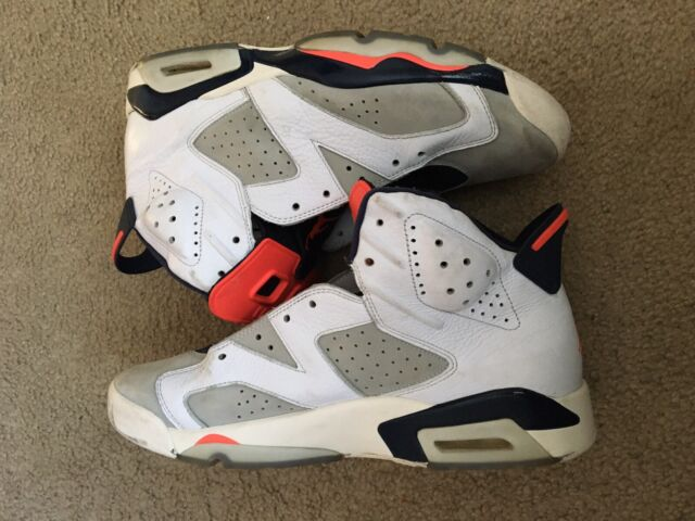 magia León telescopio  Jordan 6 Retro Tinker Little Kids 384666-104 White Infrared Shoes Youth  Size 12 for sale online | eBay