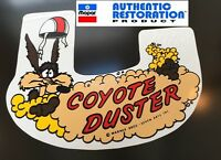1969 1970 Plymouth Road Runner Coyote Duster Air Cleaner Decal 69 70 Mopar