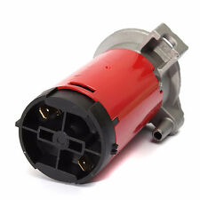 NEU 178DB 12V Hupe Lufthorn Drucklufthorn Horn mit Kompressor Für LKW Boot Chrom