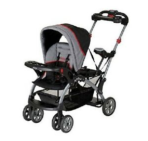 Details About Double Stroller Carrier Seat Carriage Baby Infant Combo Toddler Lightweight New